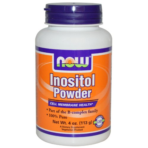 Now Foods Inositol, Vegetarian 4 OZ PURE POWDER