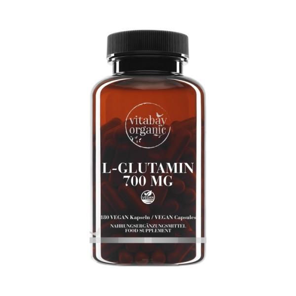 Vitabay - L-Glutamin 700 mg (180 Kapseln)