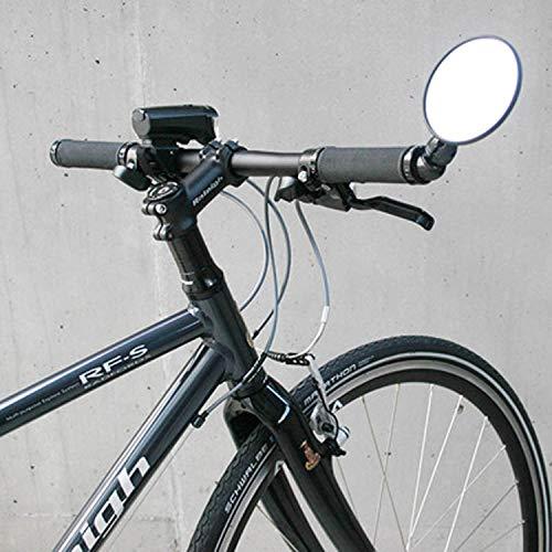 Busch & Müller Fahrerspiegel Cycle Star 80 Ohne ST Nur Innenkl, schwarz, 15 x 6 x 6 cm