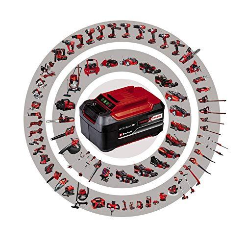Einhell Akku-Winkelschleifer AXXIO Power X-Change (Li-Ion, 18V, Ø125mm, 8500 min.-1, Bürstenloser Motor, Wiederanlauf-, Scheiben-, Überlastschutz, ohne Akku und Ladegerät, ohne Trennscheibe)
