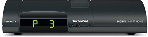 TechniSat DIGIPAL Smart Home Zentraleinheit - DVB-T2 Receiver, Zentraleinheit für TechniSat-Smart Home, Irdeto, PVR Ready USB, anthrazit