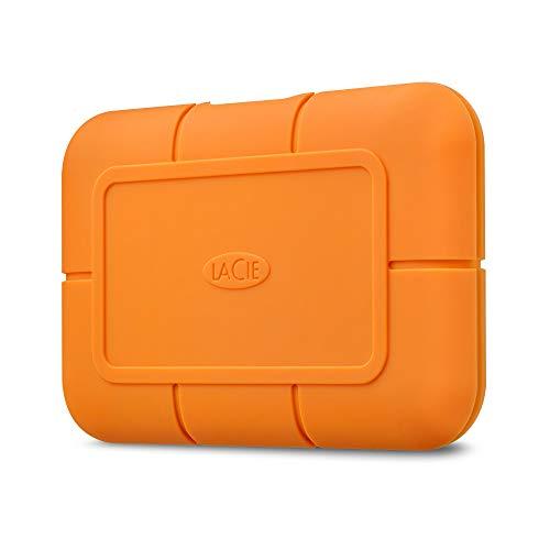LaCie Rugged SSD USB-C w/ Rescue, externe SSD, 1 TB, 2.5 Zoll, USB-C, Mac & PC, Modellnr.: STHR1000800