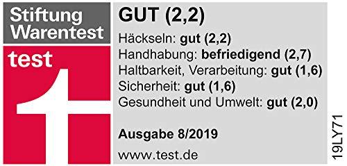 Güde 94375 GH 2800 Super Silent Gartenhäcksler (2800W, Induktionsmotor, 55L Fangbox, 45mm max. Astdicke, Leise)