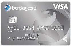Barclaycard - Visa Kreditkarte