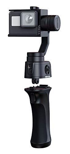 Freevision ActionCam Gimbal Vilta G -3 Achsen Schwebestativ (Stabilisator/Steadycam) für GoPro Hero  3, 4, 5, 6