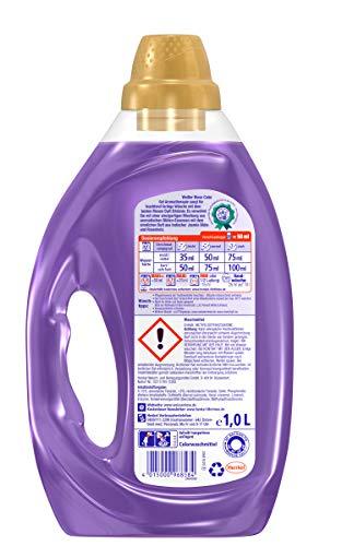Weißer Riese Color Gel, Aromatherapie Indien, Flüssigwaschmittel, 120 (6 x 20) Waschladungen, Riesen Duft Erlebnis