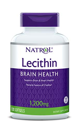 Natrol SOYA Lecithin Mineral Supplement, 1200 mg, 120-Count