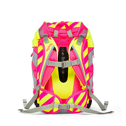 ERGOBAG StrahleBär Kinder-Rucksack, Neon Pink