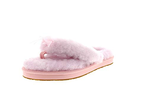 UGG Female Fluff Flip Flop III Slipper, Seashell Pink, 6 (UK),39(EU)