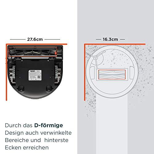 Neato Robotics Botvac D7 Connected - Premium Saugroboter mit Ladestation, Wlan & App - Staubsauger Roboter, Alexa-kompatibel & für Tierhaare