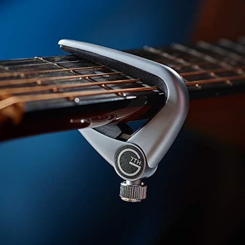 G7th C31010 Newport Capo Acoustic silver