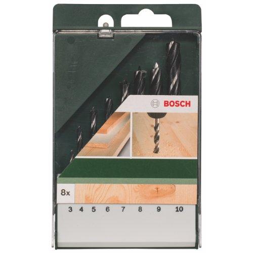 Bosch 8tlg. Holzspiralbohrer-Set