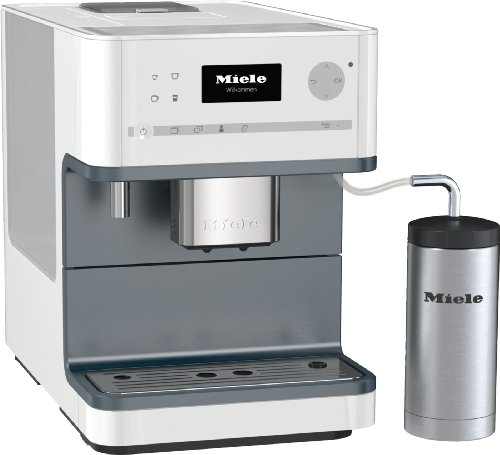 Miele Stand-Kaffeevollautomat CM 6300 Lotusweiss