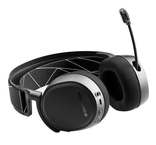 SteelSeries Arctis 9 - Dual-kabelloses Gaming-Headset - Verlustfreies 2,4 GHz Wireless + Bluetooth - Über 20 Stunden Akkulaufzeit - Für PC und PlayStation