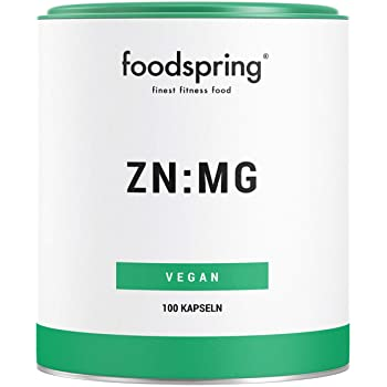 foodspring - Capsules de zinc & magnésium
