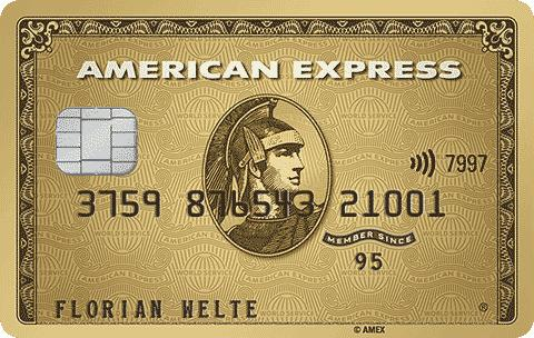 American Express - Die Business Gold Card