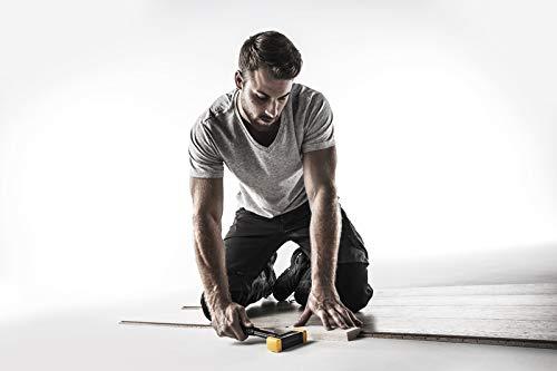 SECURAL-Schonhammer, Kopf und Stiel bruchsicher aus einem Stück Stahl, Schlageinsätze rechteckig | Länge=30 mm / Breite=40 mm | 3380.040