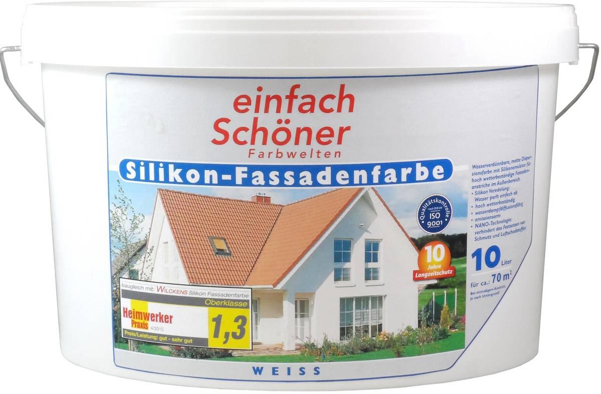 einfach Schöner Silikon - Fassadenfarbe (10000 ml)