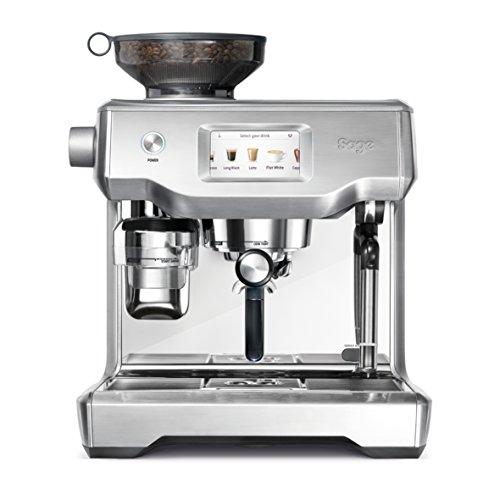 Sage Appliances SES990 Espresso-Maschine, Edelstahl, Brusched Steel