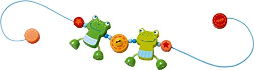 HABA 300582 - Kinderwagenkette Froschfreunde