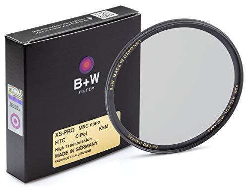 B+W Zirkularer Polarisationsfilter Käsemann (62mm, High Transmission, MRC Nano, XS-Pro, 16x vergütet, slim, Premium)