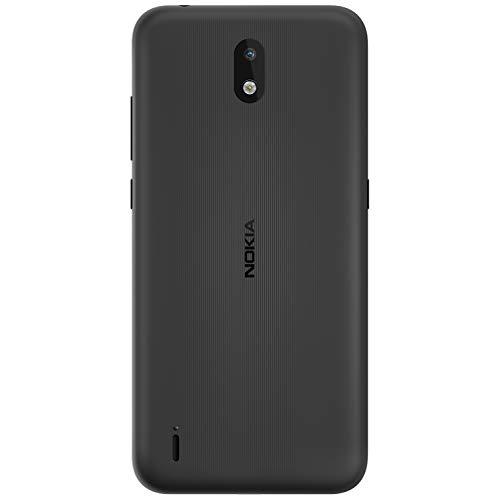 Nokia 1.3 Smartphone - Deutsche Ware (14,3cm (5.71 Zoll), 16GB interner Speicher, 1GB RAM, Dual Sim), Charcoal