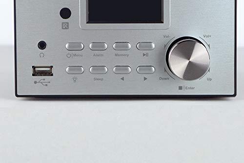 Xoro HMT 500 - Micro System Internet-/ DAB+/FM-Radio, CD Player, Bluetooth, Mediaplayer, 2.4