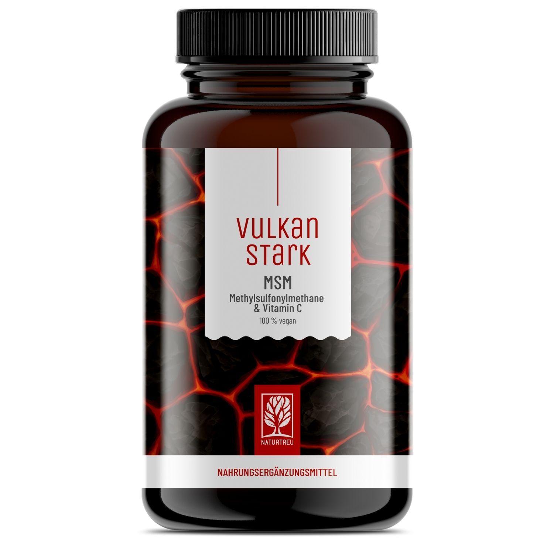 Vulkanstark - MSM + Vitamin C (hochdosiert)